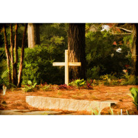 Church Garden - Faux Painting