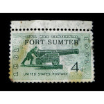 Stamp of Fort Sumter 1