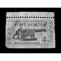 Stamp of Fort Sumter 2