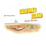 Greetings from Sullivan's Island Watercolor