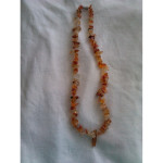 Orange Calcite necklace