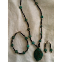 Torquoise Necklace, bracelet and earings