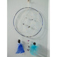 Handmade Blue Native American Dreamcatcher