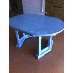 Blue star dining table