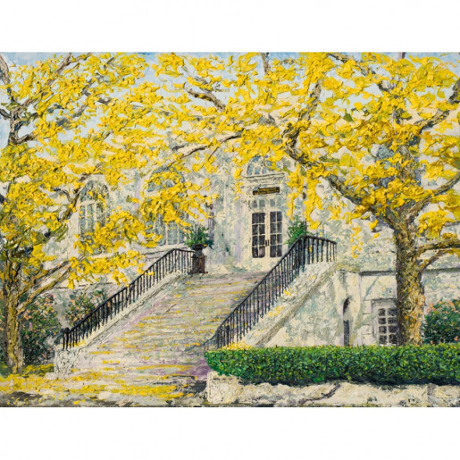 Charleston Historic Library Society II (Giclee)