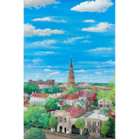 Charleston: A View from the People's Building (Giclee)