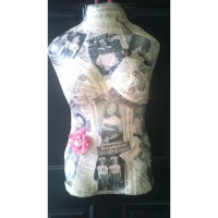 Paper Mache Body Art Commission