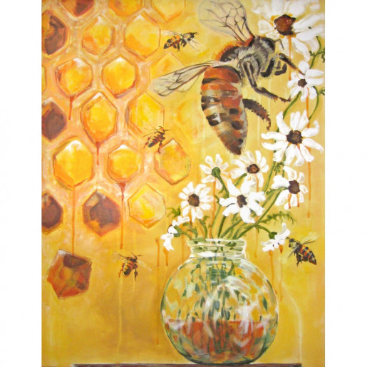 Honeybees (Fine Art Print)