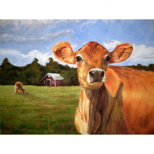 Sun-kissed Cow (Fine Art Print)