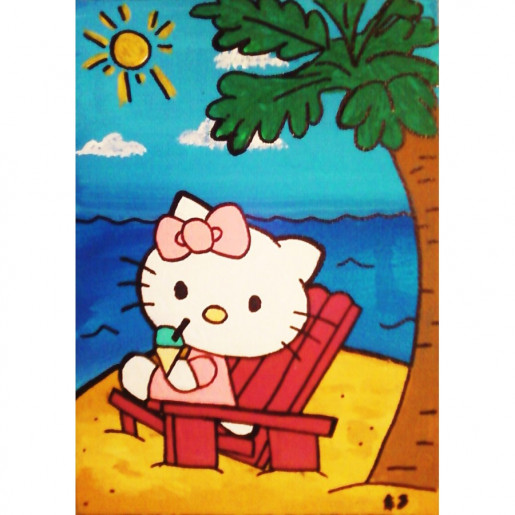Hello Kitty On Vacation