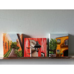 Charleston Treasures Triptych