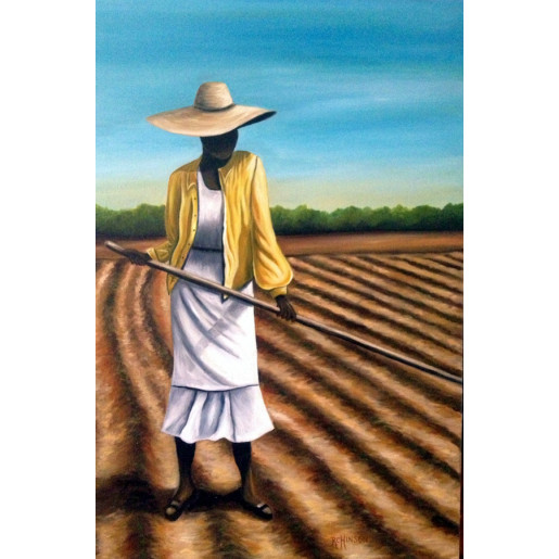 Choppin' Cotton II (Print)
