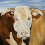 Henry the Hereford Giclee