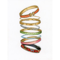 Bangle Party (Paper Print)