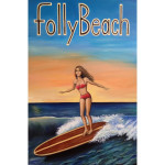 Folly Beach Girl