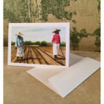 Choppin' Cotton Notecards
