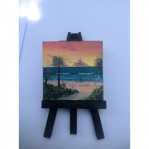 """Botany Sunrise"" Original Miniature"