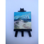 """September Beach"" Original Miniature"