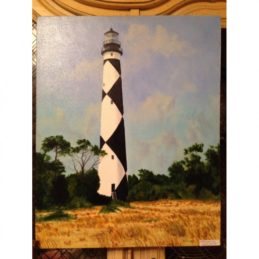 """Cape Lookout"" Giclee"