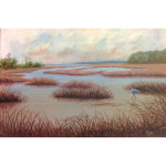 """Winter Marsh""  Giclee"