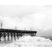 Hurricane Irene at Pier